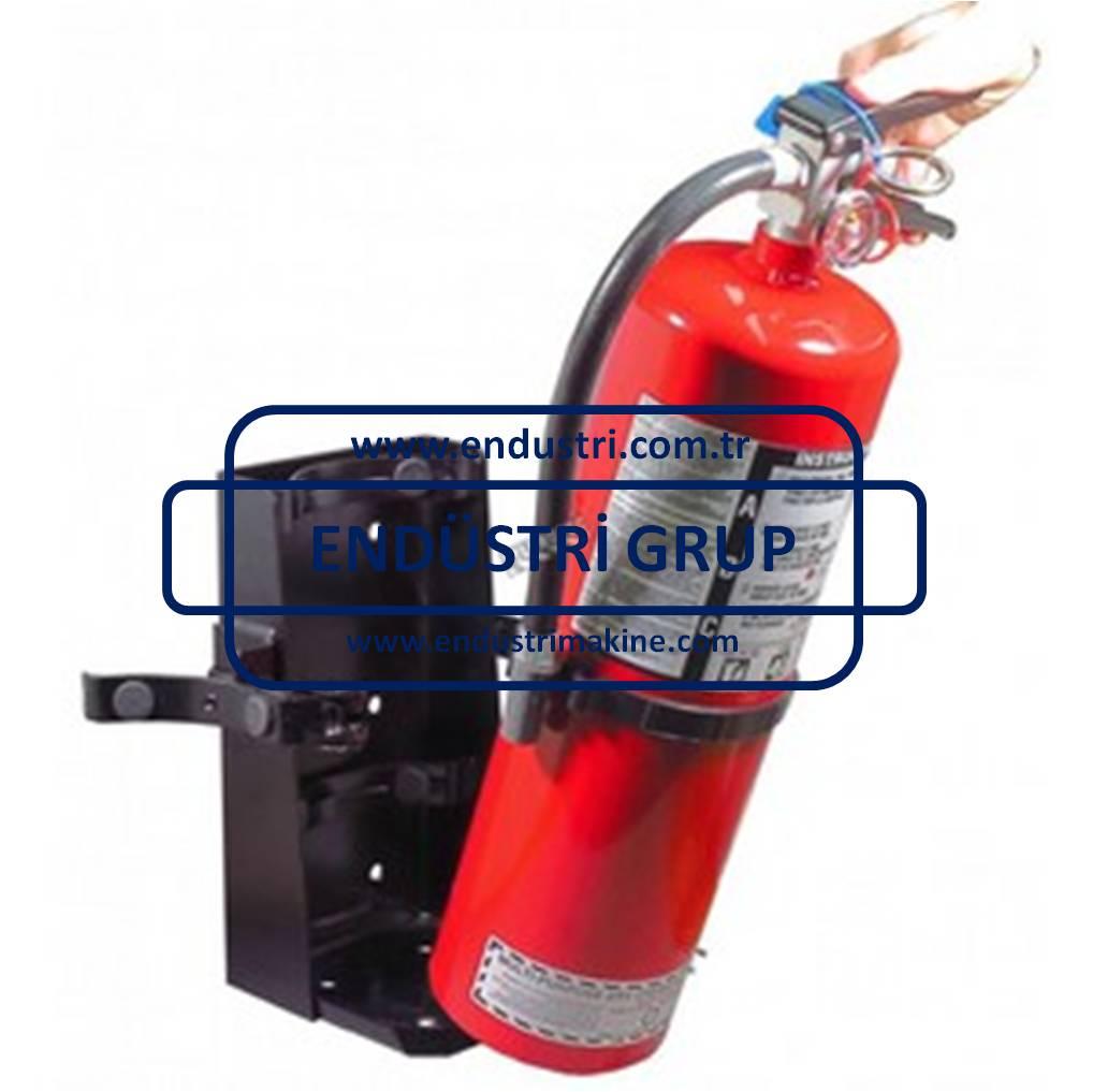 Yangın tüpü sabitleme standı aparatı